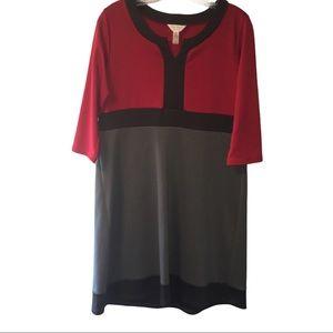 3/$21 Three Season Maternity Long Sleeve Dress